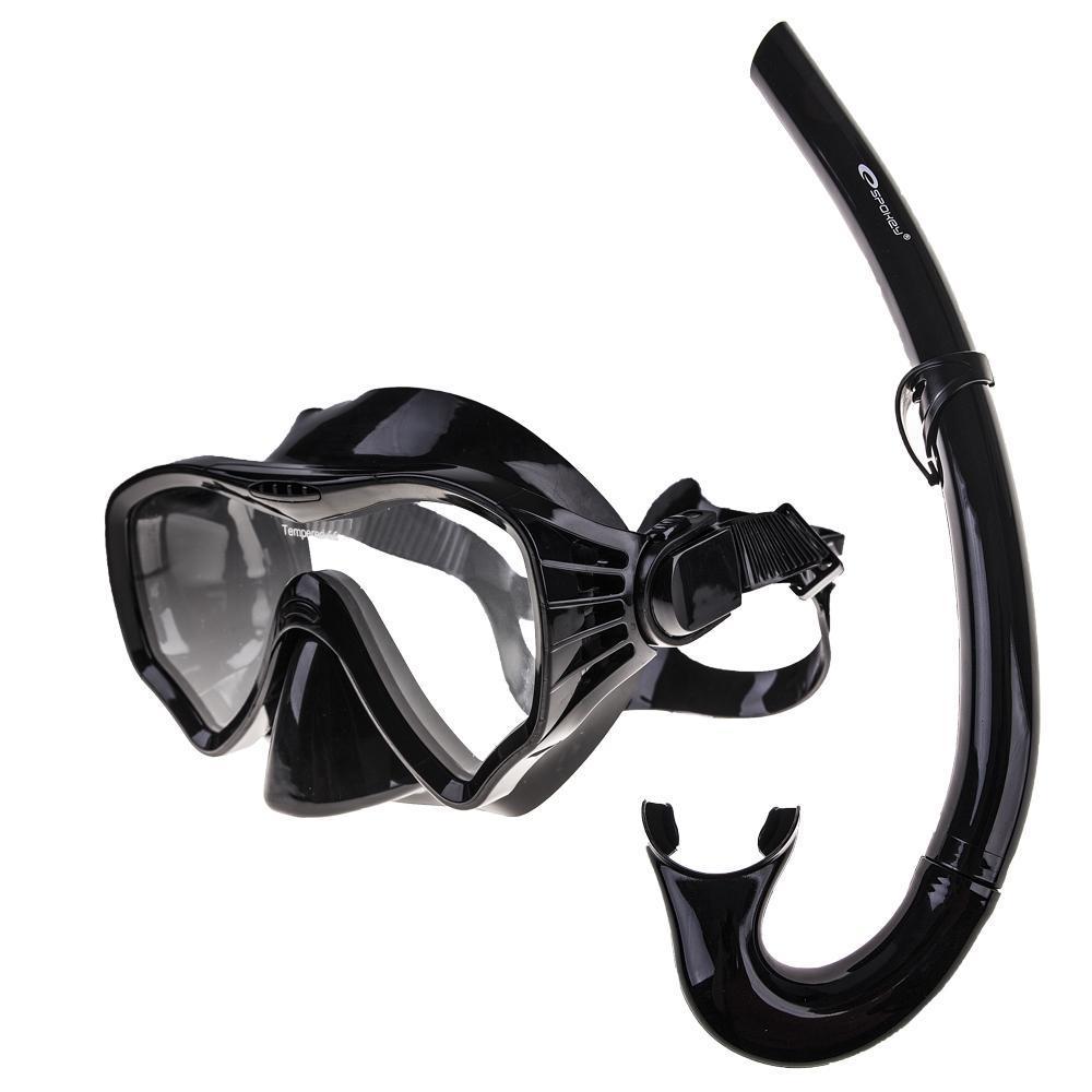 MOANA - Zestaw do nurkowania: maska, fajka