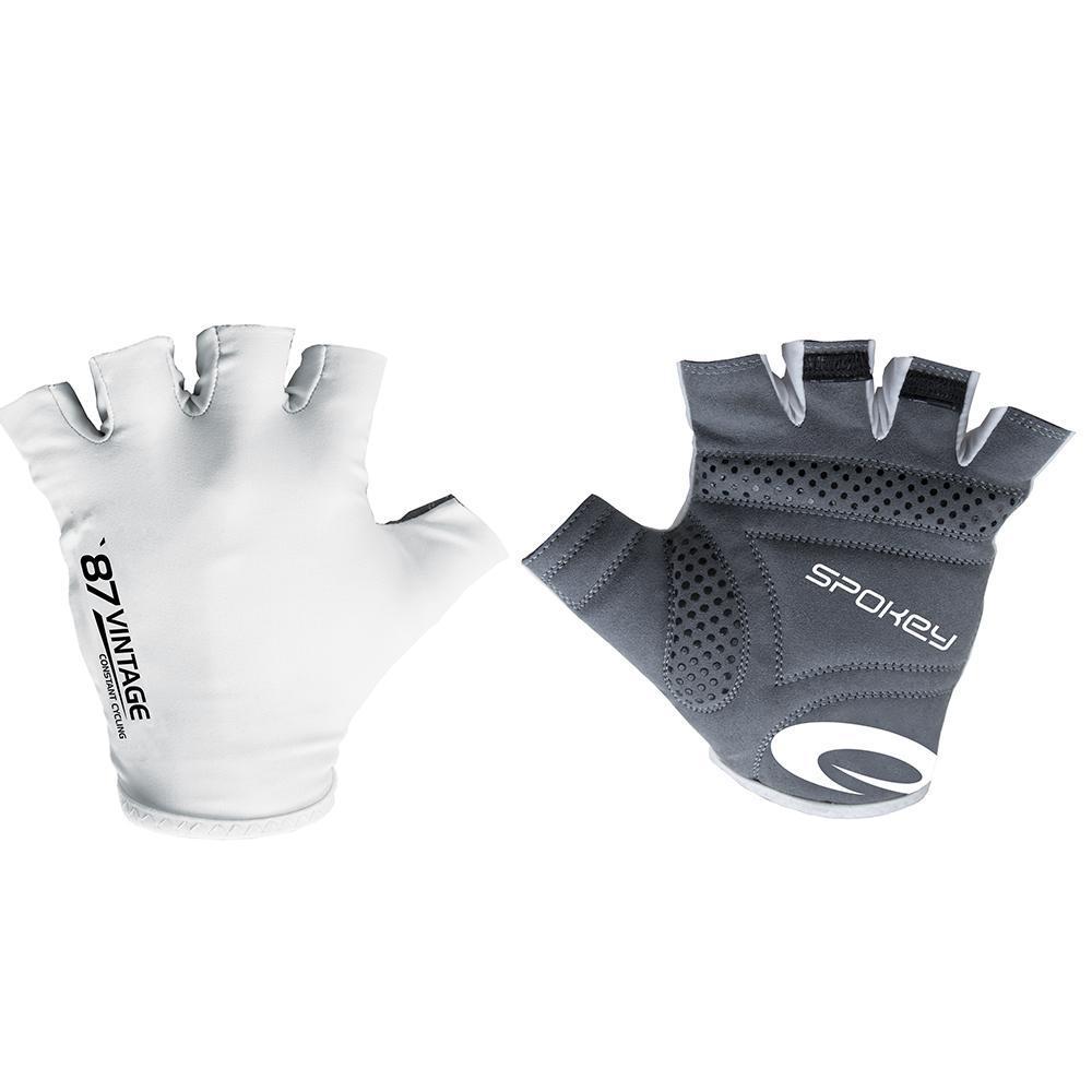 VINTAGE WHITE - Cyklistické rukavice