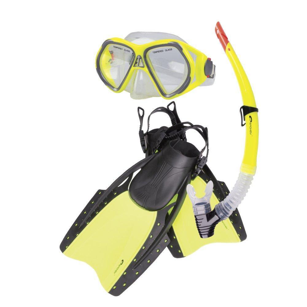 REEF - Zestaw do nurkowania: maska, fajka, pletwy
