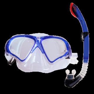 TORTUGA - Zestaw do nurkowania: maska, fajka