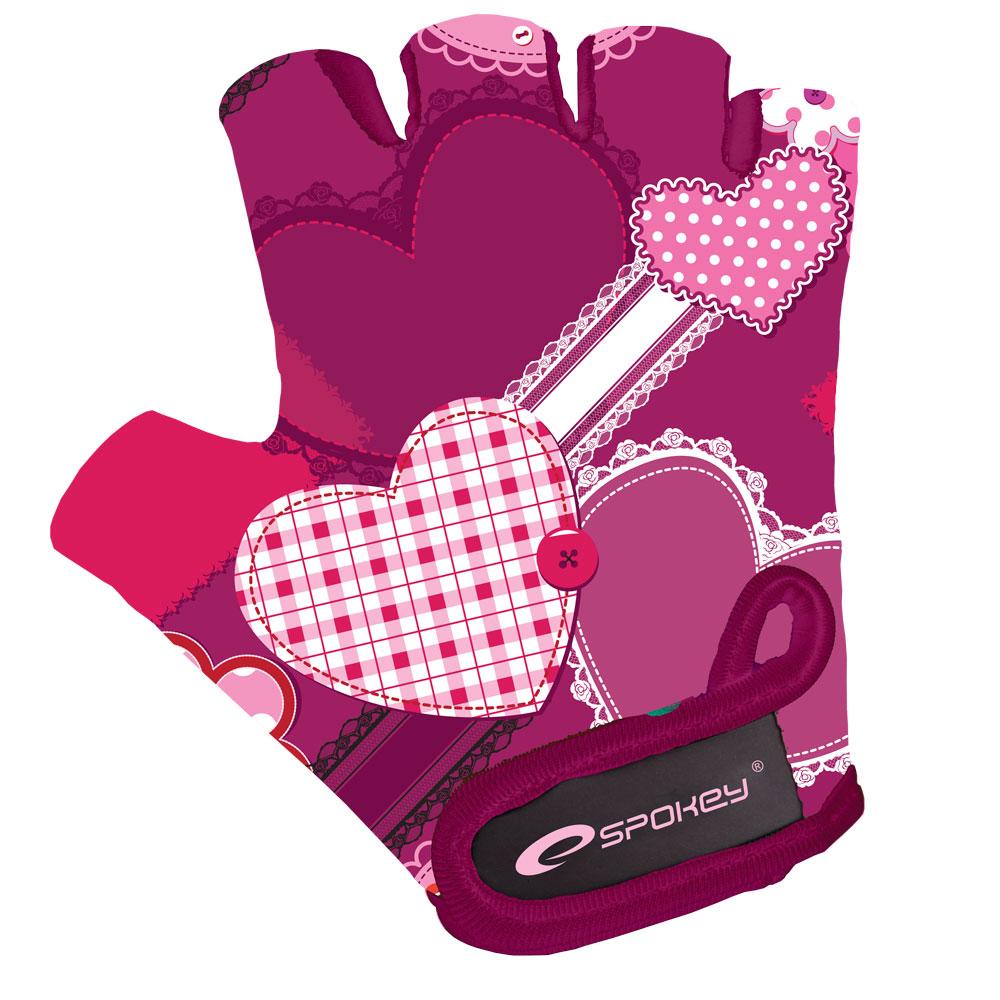 HEART GLOVE - Dětské cyklistické rukavice