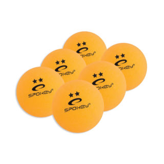 SKILLED WHITE/ORANGE - Pingpongové míčky