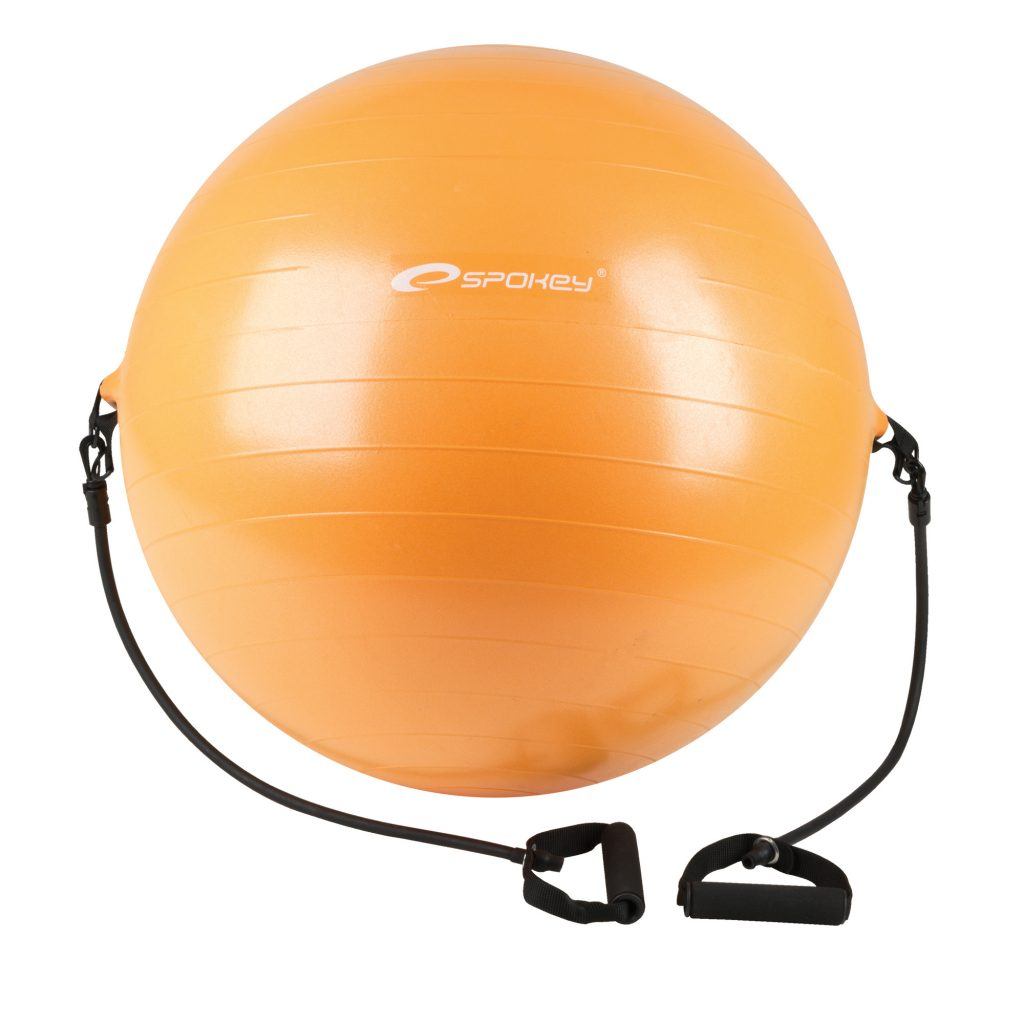 ENERGETIC - GYM BALL WITH EXPANDERS