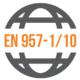 Shodné s normou: EN 957-1/10