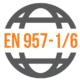 Shodné s normou: EN 957-1/6