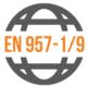 Shodné s normou: EN 957-1/9