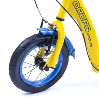 DROPS - Scooter with pneumatic wheels
