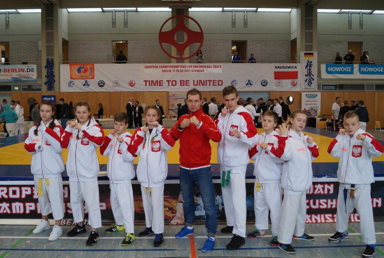 Mistrzostwa Europy Dzieci i Młodzieży federacji KWU: wyniki