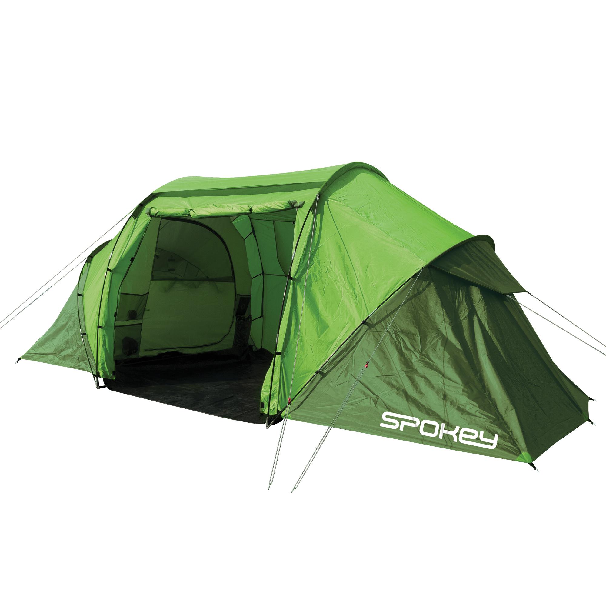 Ogromny Namiot campingowy TIMBERLANE 2+2 - Spokey HX57