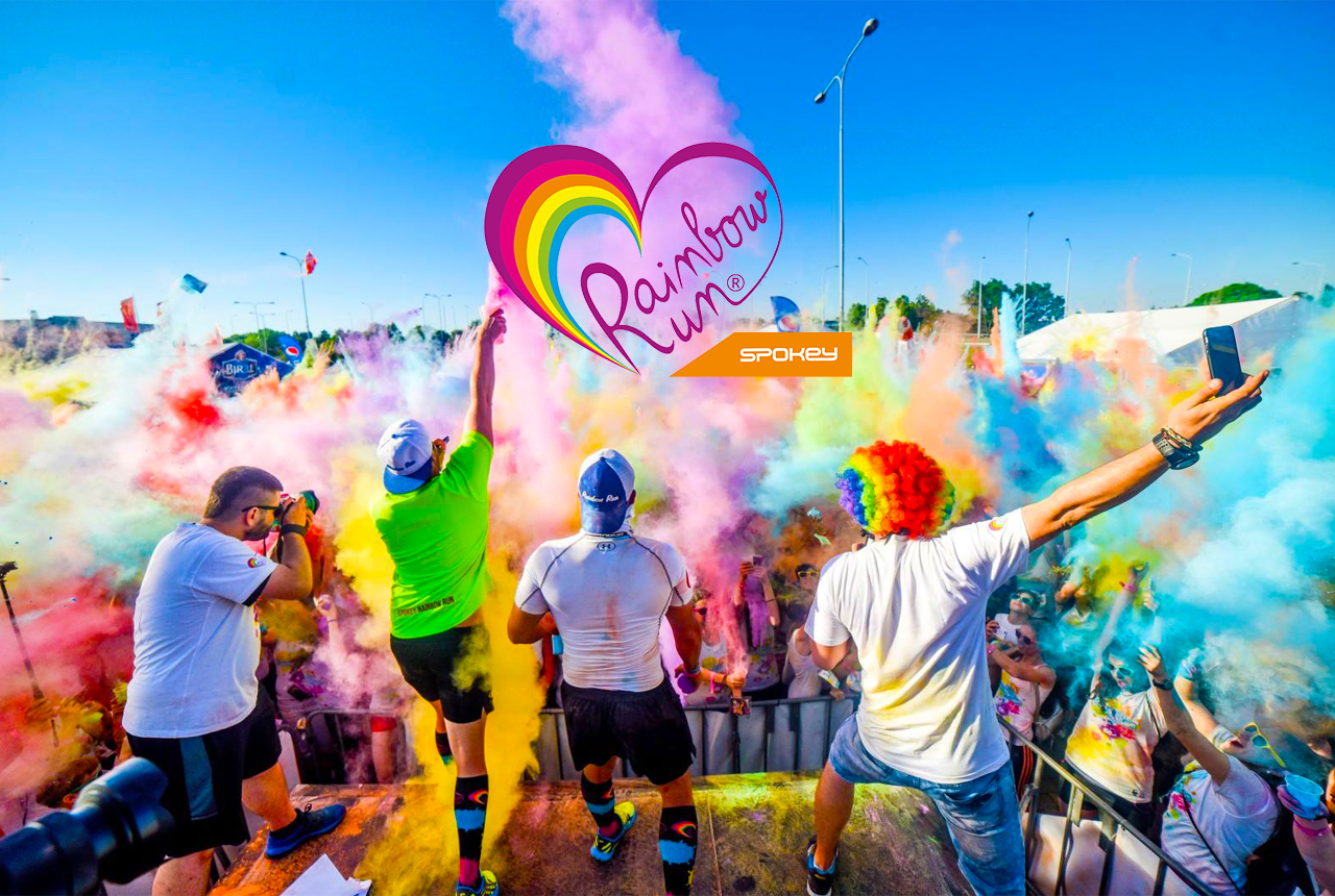 POZVÁNKA na SPOKEY RAINBOW RUN