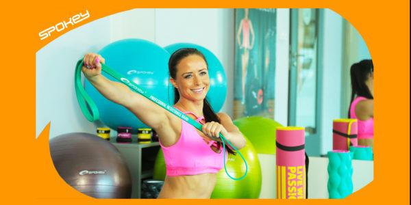 Jak cvičit s posilovací gumou