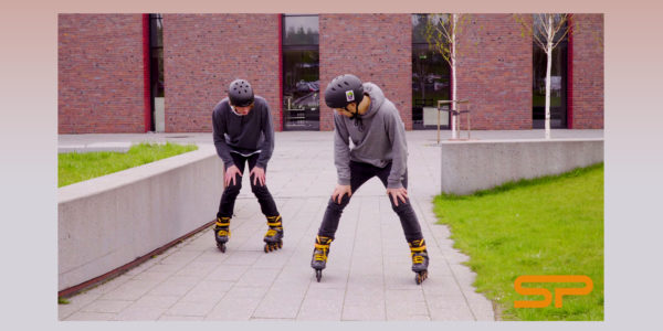 Learn to rollerblade with Spokey: Riding backwards