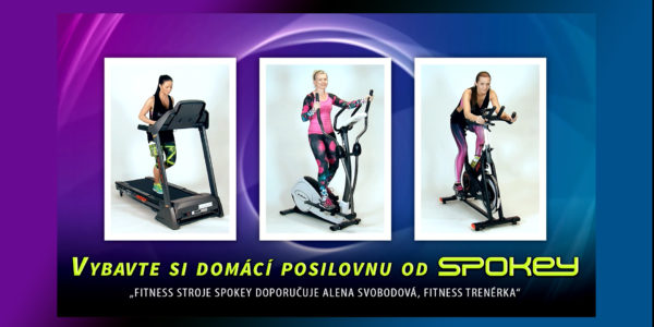 Produktové video – fitness stroje Spokey