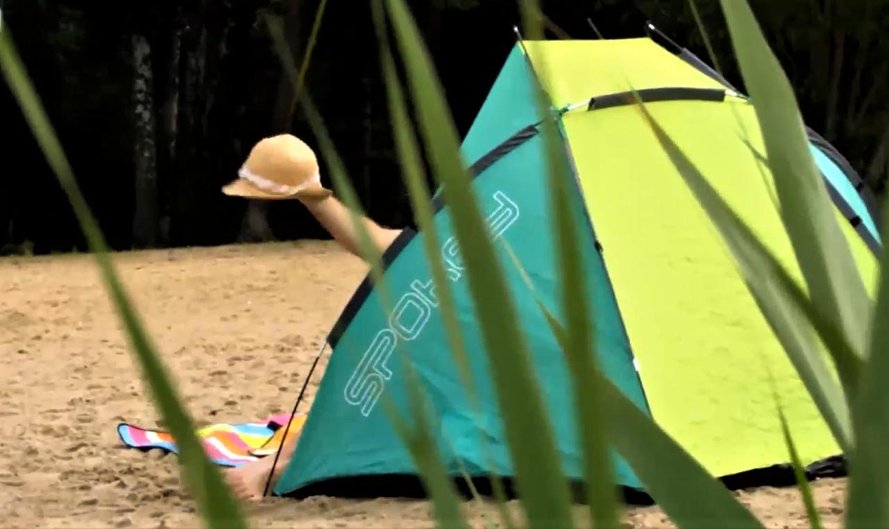 Parawan plażowy Cloud II – recenzja
