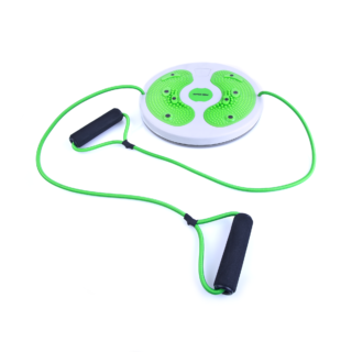 WILD TWIST V - twist board with resistance tube and magnets