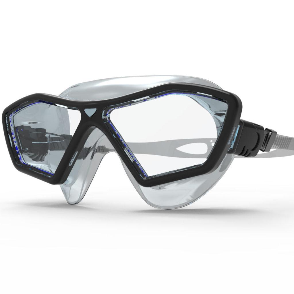 MASKO - Okulary pływackie / półmaska