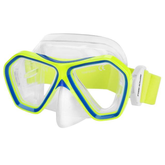 PERCH JR - Maska pro šnorchlování junior