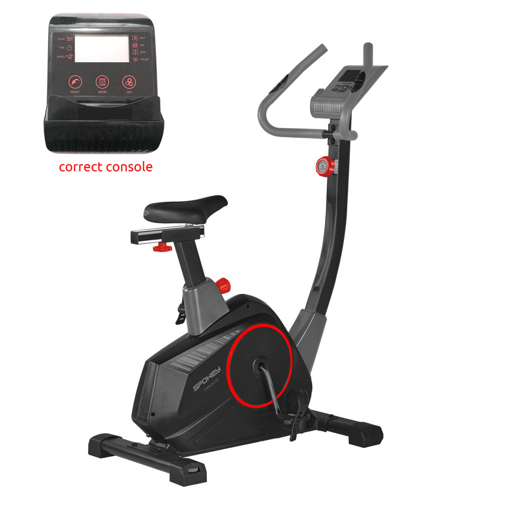 GRADIOR - Rower magnetyczny